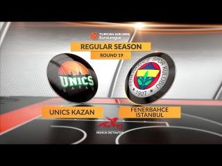 #GameON trailer: Unics Kazan-Fenerbahce Istanbul. УНИКС - Фенербахче. Предматчейвый трейлер
