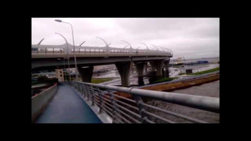 новый мост на Крестовский остров