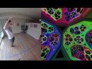 Non-euclidean virtual reality