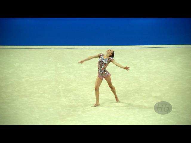 BOZIC Laura (CRO) - 2017 Rhythmic Worlds, Pesaro (ITA) - Qualifications Ball