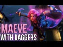 Paladins Song Maeve With Daggers Maroon 5 Moves Like Jagger PARODY ft Syraphic ♪