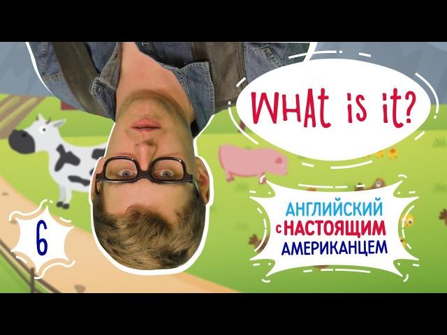 Веселый английский с настоящим американцем! - Загадки с картинками (What is it? It is...)