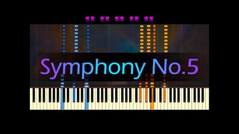 Symphony No. 5 - Piano Solo (Liszt arr.) BEETHOVEN