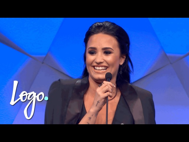 Demi Lovato Gives Shout-Outs to Nick Jonas Wilmer Valderrama | GLAAD Media Awards 2016