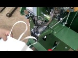 How to make Shopping paper bag Two feeder channel for male and female rivets