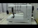 Janome Cover Pro 2 Как работает дифференциал давление лапки слайдер Видео № 284