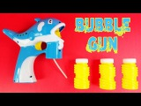Bubble Gun for Kids - Bad Kids Play with Bubble Guns - Bubble Gun Fun Toy with Electric Flash Music