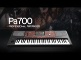 Korg Pa700 Performance That Takes You Places