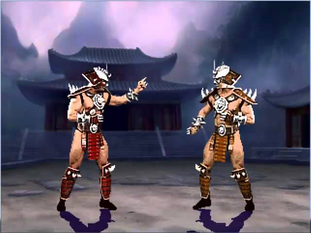Shao Kahn vs Shao Kahn (Taunt battle)