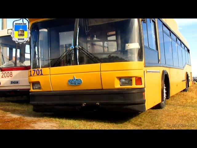 Киевский троллейбус- МАЗ-103Т 30.09.2016