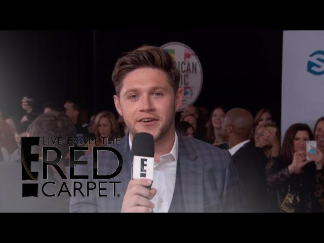 Niall Horan Talks Going Solo on the 2017 AMAs Red Carpet | E! Live from the Red Carpet