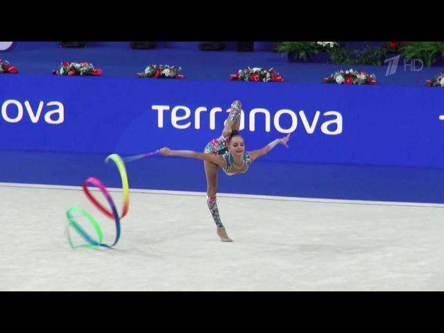 Триумфальное выступление российских гимнасток начемпионате мира вИталии. Новости. Первый канал