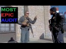 US Border Closed for Filming and Open Carry 1 2 Patrol Checkpoint Audit Canada