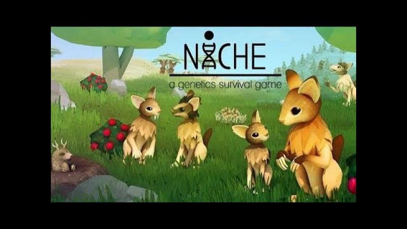 ДЕЛАЕМ МУТАНТОВ! ► Niche - A Genetics Survival Game 2