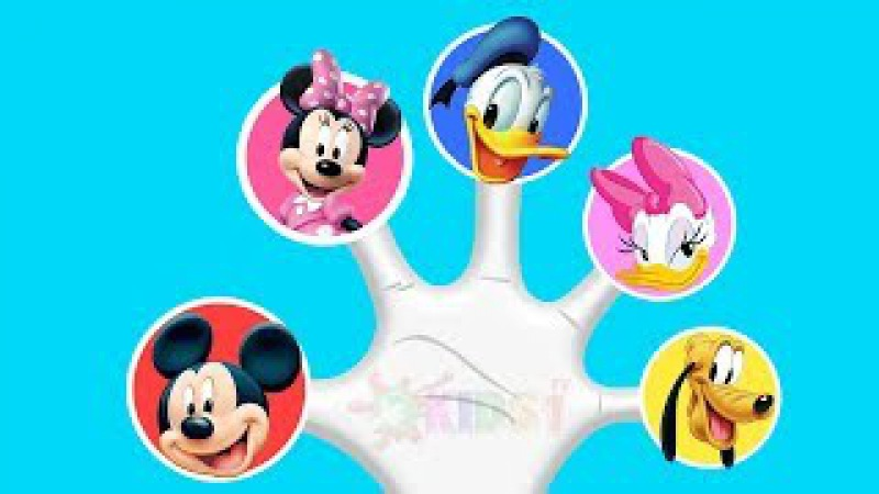 Mickey Mouse Lollipop Finger Family Songs Collection ♪ Nursery Rhymes and More Lyrics