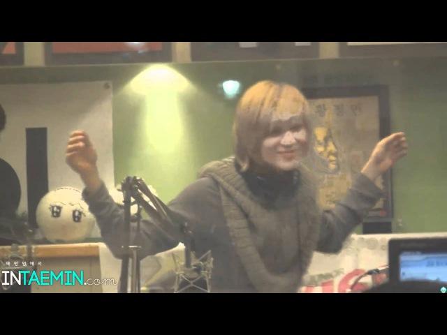 110225 DJ Taemin (focus) DJ Minho adorkable dance fancam @ $ukira