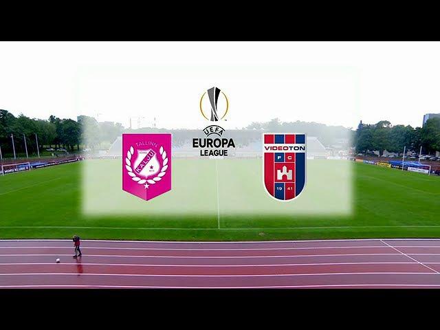 Nõmme Kalju FC - Videoton FC / Full match 2017/2018