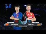 Table Tennis  Timo Boll VS Lin Gaoyuan  German Open 2017  Quarter Finals