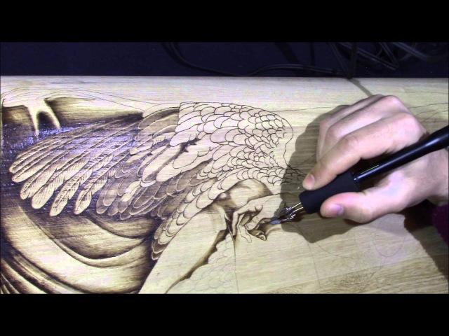 Ricardo Coelho - Pyrography project 61