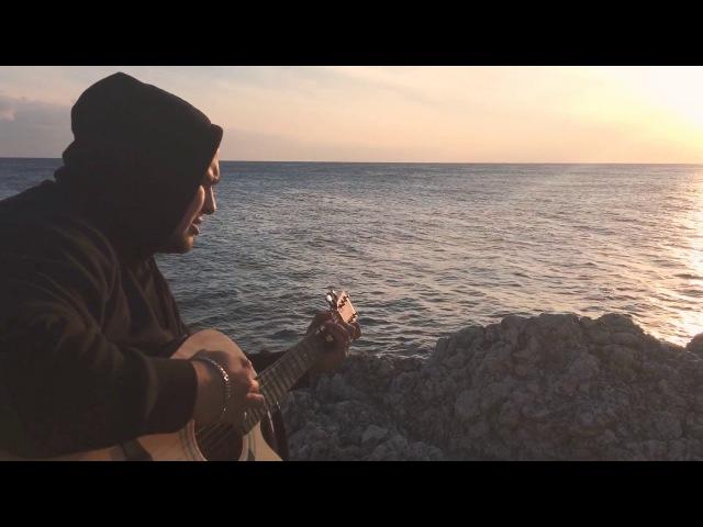 Баста-Сансара от души кавер под гитару Крым Чёрное море