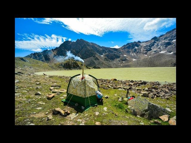 Mobiba на высокогорном озере Сылтран Кёль 3200 над уровнем моря