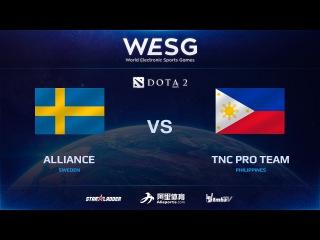 [RU] Alliance vs TNC Pro Team, Game 1, 1/2, 2016 WESG Dota 2 Grand Final presented by Alipay