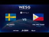 RU Alliance vs TNC Pro Team, Game 1, 12, 2016 WESG Dota 2 Grand Final presented by Alipay
