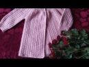 Кардиган из хлопковой пряжи (вяжем поперек), модель и для девочки, и для мальчика