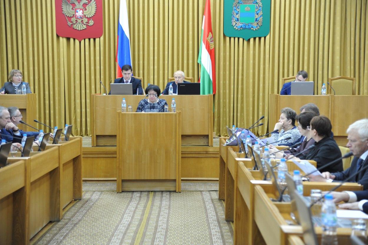 Калужские народные избранники приняли бюджет региона на следующий год впервом чтении