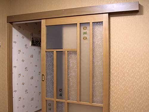 Как сделать стенку с дверью 584