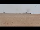 Сирия.01-06-2017.Хомс.Поражение скопления техники САА из ПТРК ,и уничтожение фронтального погрузчика