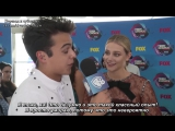 «Teen Choice Awards 2017»: Интервью с Лили Рейнхарт [RUS SUB]