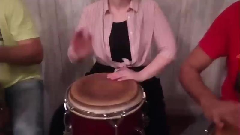 28.10.2017 bembesp: Михаил Прошкин и Ко. - CONGO на вечеринке Danza Latina.