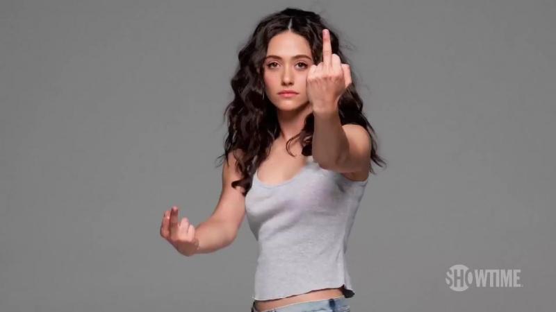 Shameless Middle Finger Tease Season 8 Only on SHOWTIME