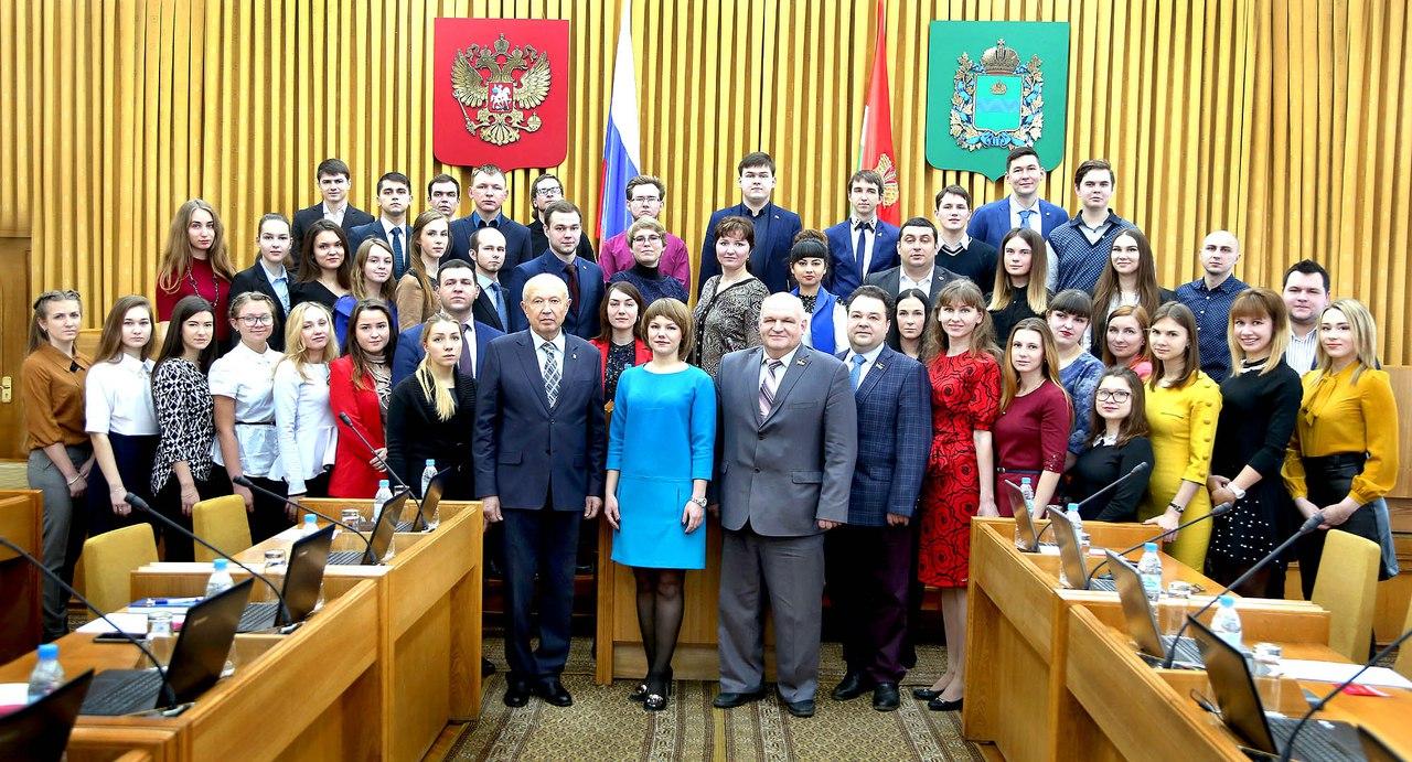 Новый состав молодежного парламента провел первое заседание