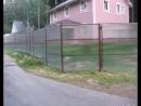 Смелые решения на заборы в Томске из поликарбоната