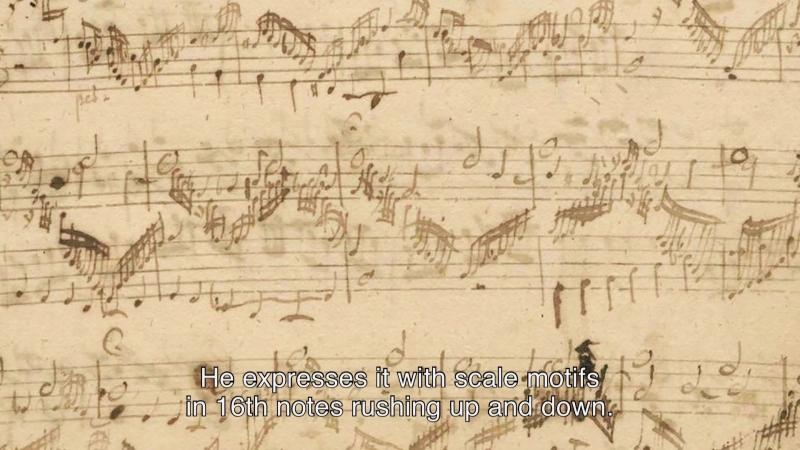 607b J. S. Bach - Von Himmel kam der Engel schar - BWV 607