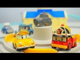 Робокар Поли новая серия Такси Кэп БЕЗ ТОРМОЗОВ!!! Мультик про Машинки Игрушки для детей