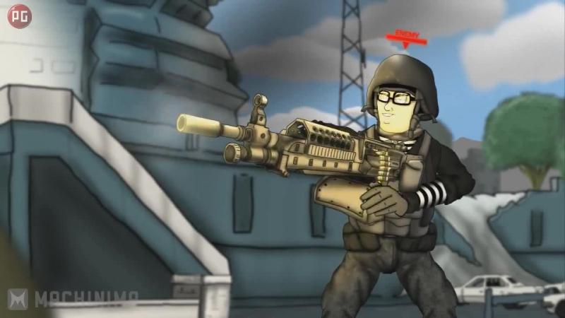 Друзья по Battlefield - 9 - Битва нубов