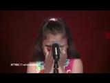 Девочка поёт про палестинских детей