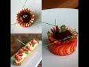 Идея подачи десерта в тарелке