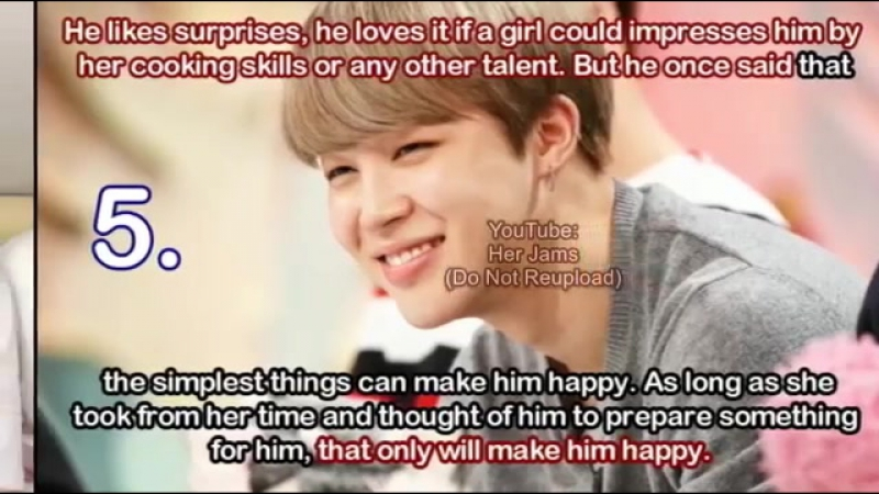 10 Things BTS Jimin Loves in a Girl {Playboy Mochi 😍}