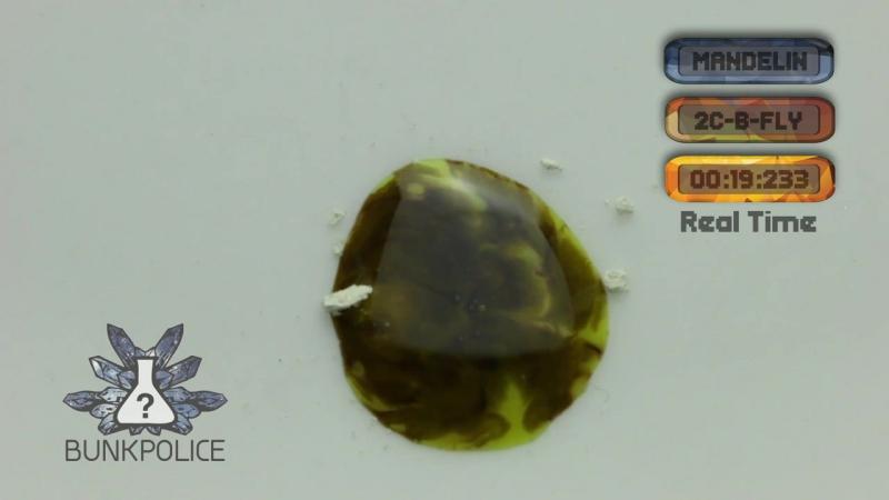 2C-B-FLY - Mandelin Reagent - Normal Test Kit - Bunk Police