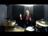 Hand Foot paradiddle fills