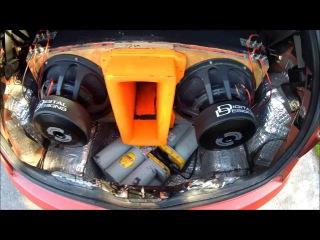 Bass & Flex Fiat Punto DD Audio 2x15 1/2