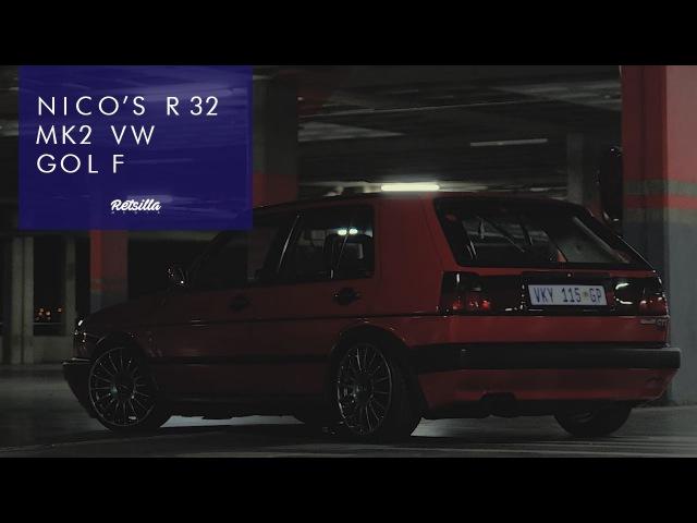 Nico's R32 VW MK2 Golf смотреть онлайн без регистрации