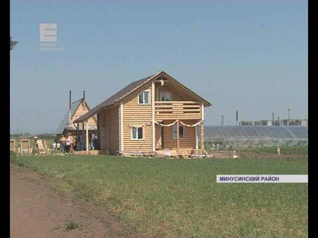 Новая туристическая деревня Сказочная Русь (Енисей Минусинск)