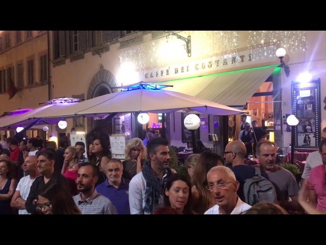 Lo show di Pupo per l'anniversario di Artemio e Grazia Buzzi