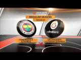 Highlights: Fenerbahce Istanbul-Galatasaray Odeabank Istanbul. Евролига. Фенербахче - Галатасарай