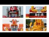 All DX Gattai Ressha Sentai ToQger 2014! DX 烈車戦隊トッキュウジャー! Power Ranger Train Force!